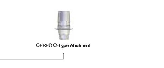 CEREC C-Type Abutment