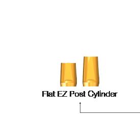 Flat EZ Post Cylinder