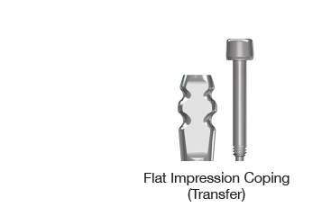 Flat Impression Coping