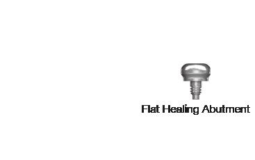 Flat Healing Abutment