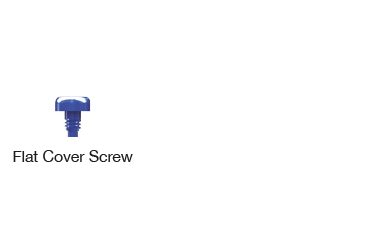 Flat Cover Screw