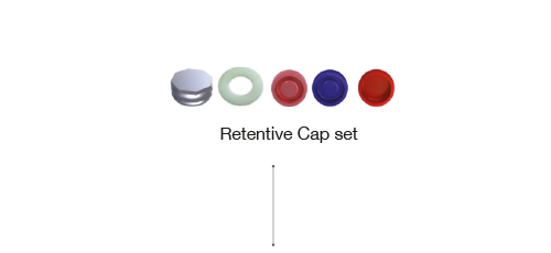 Retentive Cap set