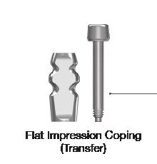 Flat Impression Coping Transfer
