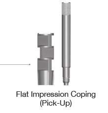 Flat Impression Coping Pick-up