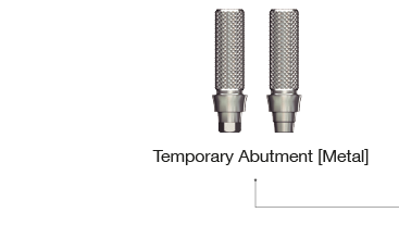 Temporary Abutment metal