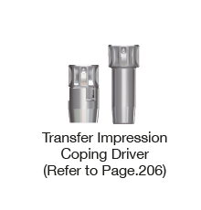 Transfer Impression Coping Driver