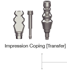 Impression Coping Transfer