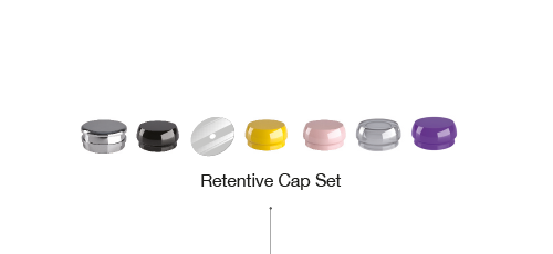 Retentive Cap set