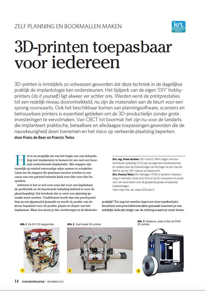 3D printen beschikbaar voor iedereen 1