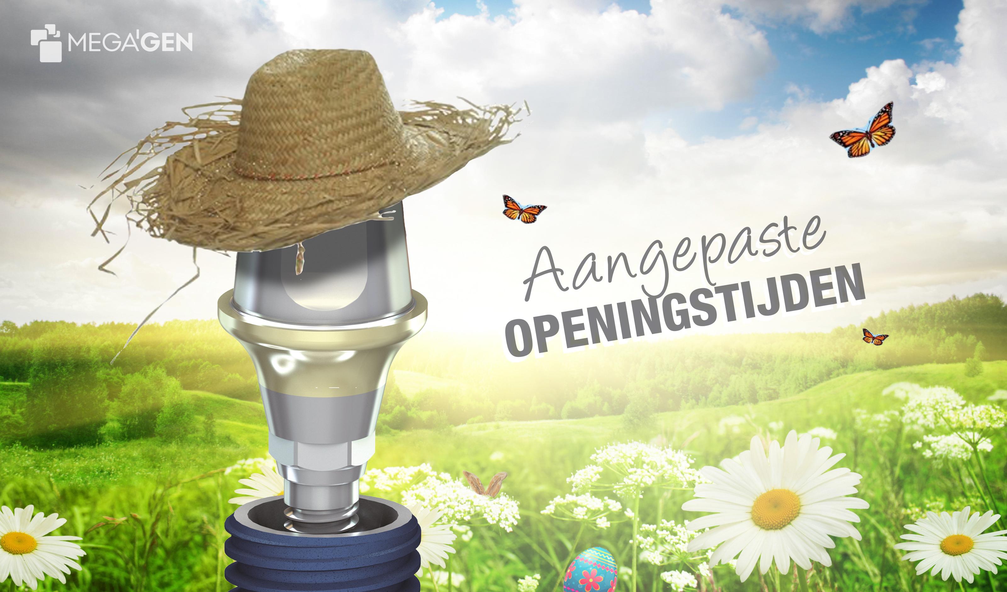 Aangepaste openingstijden voorjaar megagen